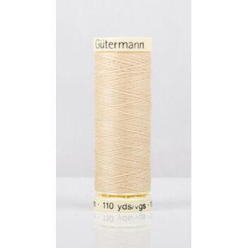 Gutermann Cream Sew-All Thread: 100m (6)