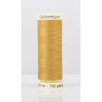 Gutermann Yellow Sew-All Thread: 100m (968)