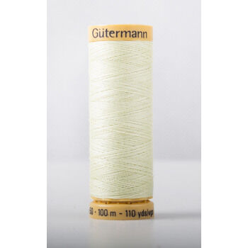Natural Cotton Thread: 100m: Col. 128