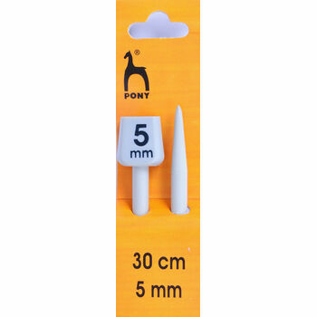 Pony Knitting Needles - 30cm x 5mm (Pair)