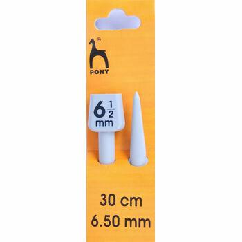 Pony Knitting Needles - 30cm x 6.50mm (Pair)