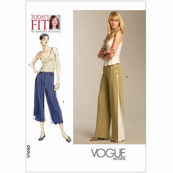 Vogue pattern V1050