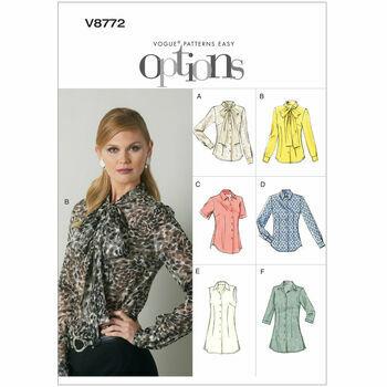 Vogue pattern V8772