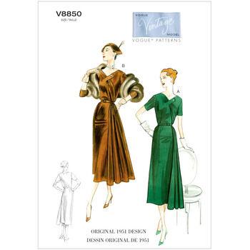Vogue pattern V8850