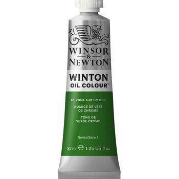 Winsor & Newton Winton Oil Paint - Chrome Green Hue (37ml)
