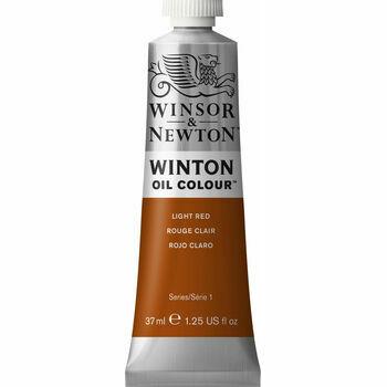 Winsor & Newton Winton Oil Paint - Light Red (37ml)