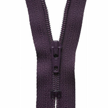 YKK Nylon Dress & Skirt Zip - Damson (18cm)