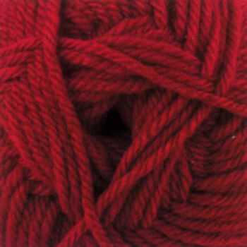 James C. Brett Chunky with Merino Yarn - Red: CM5 (100g)