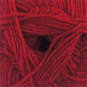 DK with Merino Yarn - Red - DM5 (100g)