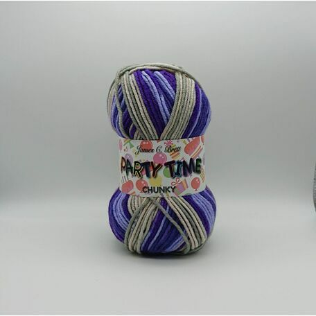 Party Time Chunky Yarn: PT14: 100g