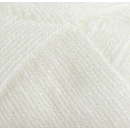 Super Soft Yarn - Baby DK - White BB4 (100g)