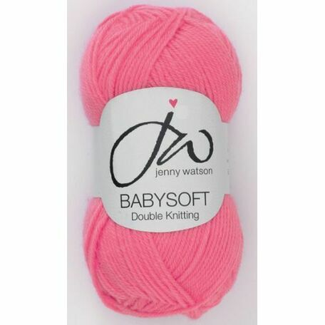 Babysoft Yarn - Pink (50g)