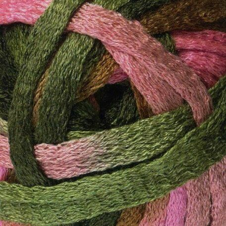 Cha Cha Cha Yarn - Pinks and Greens (150g)