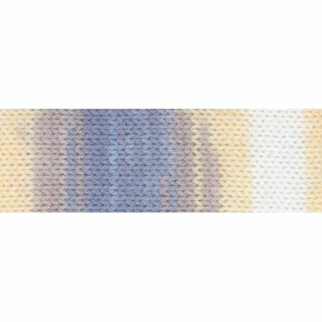 Magi-Knit Yarn - Blue, Yellow, White (100g)