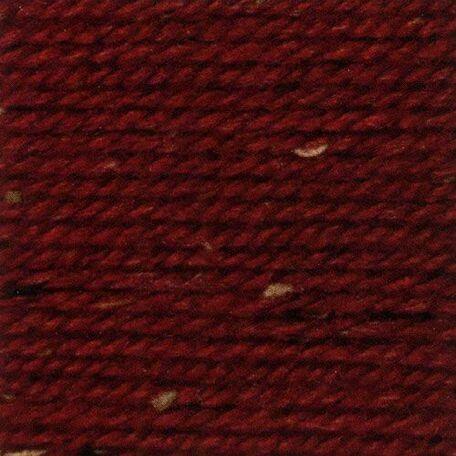 Rustic Aran Tweed Yarn - Red (400g)