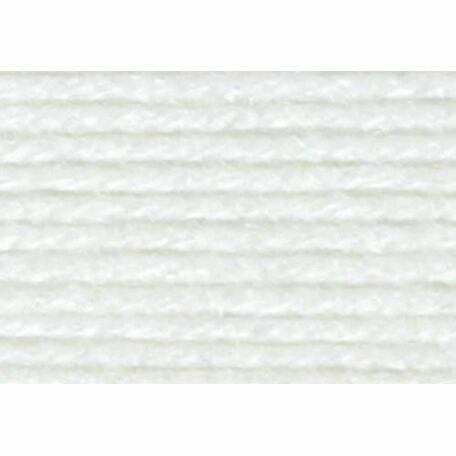 Super Soft Yarn - 3 Ply - White (100g)