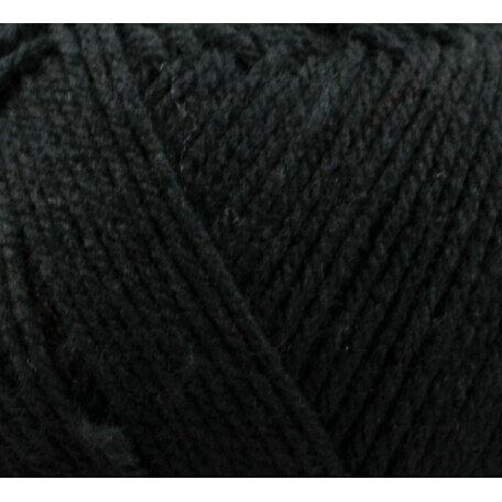Top Value Yarn - Black - 8430 (100g)