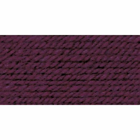 Wool Aran Yarn - Burgundy (400g)