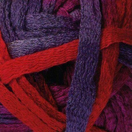 Cha Cha Cha Yarn - Red pink Purple (150g)