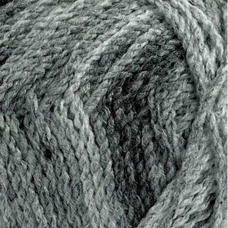 Marble Chunky Yarn - Grey shades (200g)