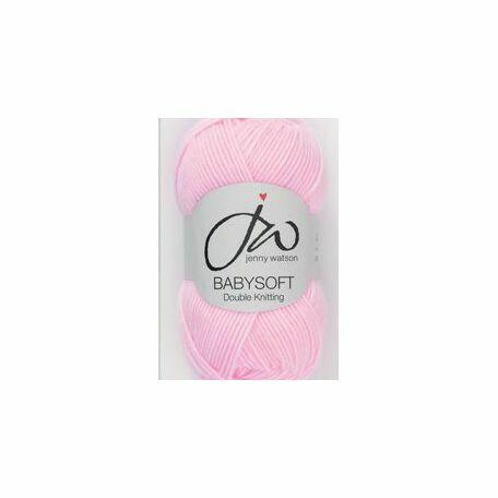 Babysoft Yarn - Baby Pink (50g)