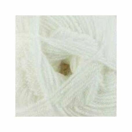 Double Knitting with Merino - White DM1 - 100g