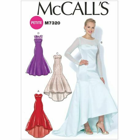 61ec0fb885da4 McCall's Sewing Pattern M7320 (Misses Prom Dress) from £8.92
