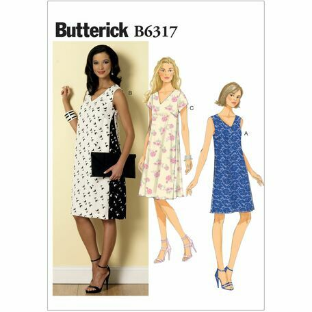 Butterick Sewing Pattern B6317 (Misses Dress) from £9.50