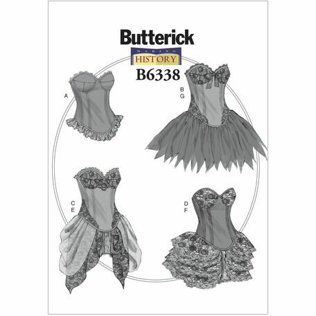 Butterick Making History Sewing Pattern B6338 (Misses Costumes) from ...