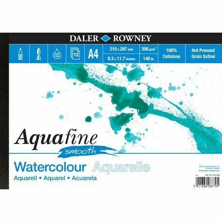 2 x Aquafine Smooth Watercolour Pad (A4)