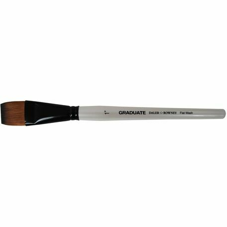 Graduate Synthetic Flat Wash Brush (Size 1in)