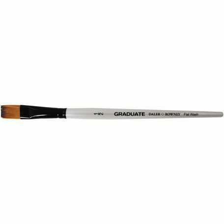 Graduate Synthetic Flat Wash Brush (Size 0.5in)