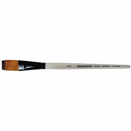 Graduate Synthetic One Stroke Brush (Size 0.75in)