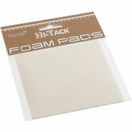Trimits Hi-Tack 1mm Foam Pads - White