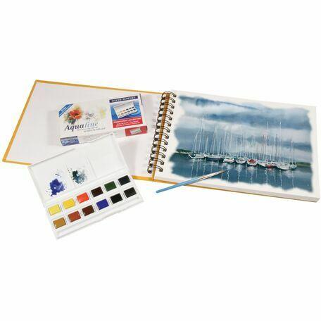Daler Rowney Artists Watercolour Travel Set