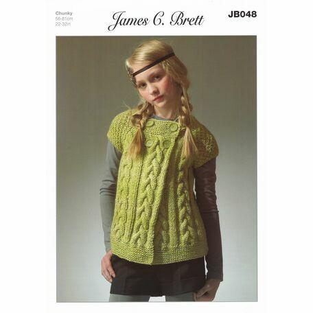James C Brett Pattern Chunky JB048