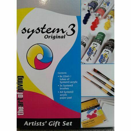 Daler Rowney System 3 Artists Gift Set