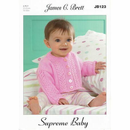 Brett Pattern JB123 - Supreme Baby 4 ply