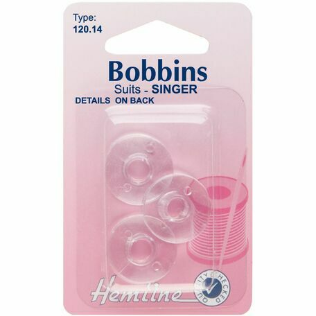 Hemline Plastic Bobbins - Singer/Class 66k