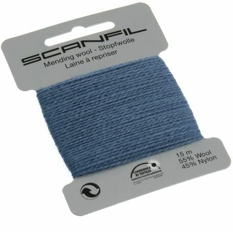 Scanfil Mending Wool - Steel Blue (15m)