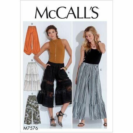 McCalls pattern M7576