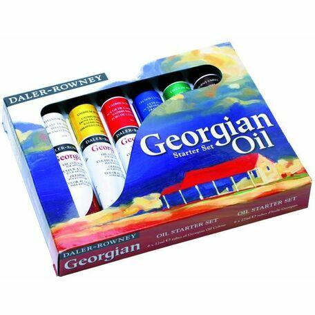 Daler Rowney Georgian Oil Starter Set