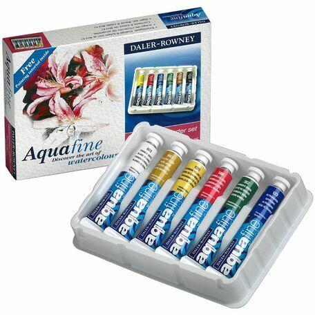 Daler Rowney Aquafine Watercolour Starter Set