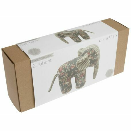 Groves 'Make Your Own Elephant' Sewing Kit