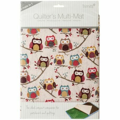Trimits Quilters Multi-Mat - Hoot