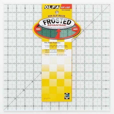 Olfa Non-Slip Square Quilting Rule (12.5 x 12.5 inch)