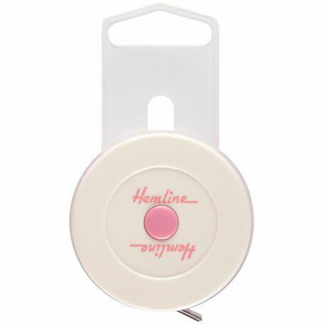 Hemline Premium Retractable Tape Measure (150cm)