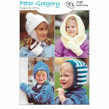 UKHKA Peter Gregory (7107) - Children's Hats and Mitts