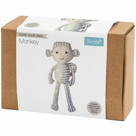 Groves Make Your Own Monkey Toy Making Kit