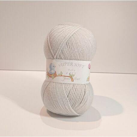 James C Brett Super Soft - 4 Ply - Pearl Grey - BY11 - 100g